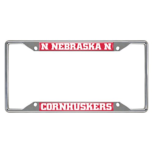 FANMAT 14919 Nebraska License Plate Frame
