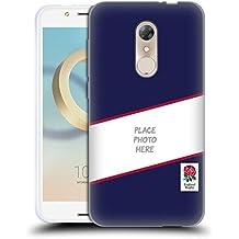 Personalizzata Personale England Rugby Union Kit Colori Alternativi 2016/17 Cover Morbida In Gel Per Alcatel A7