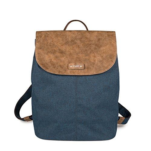 Zwei Damen Tasche O13 Olli, Farbe:blue, Größe:Einheitsgröße - Blue Rucksack Tasche