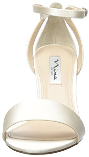 Nina Dress Venetia Ivory Crystal Sandal Womens 1g8xqw1