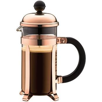 BODUM - 1923-18 - CHAMBORD - Cafetière à piston – 3 Tasses - 0,35 L