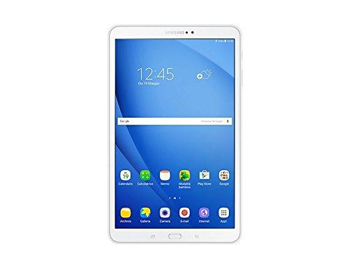 Foto Samsung Galaxy Tab A Tablet da 10.1, 16 GB Espandibili, WiFi, Bianco [Versione Italiana]