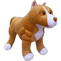 ADORE 13 Standing Boss the Pit Bull Dog Plush Stuffed Animal Toy by Adore Plush Company - Comparador de precios