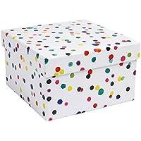 Acuarela puntos tamaño mediano caja de regalo