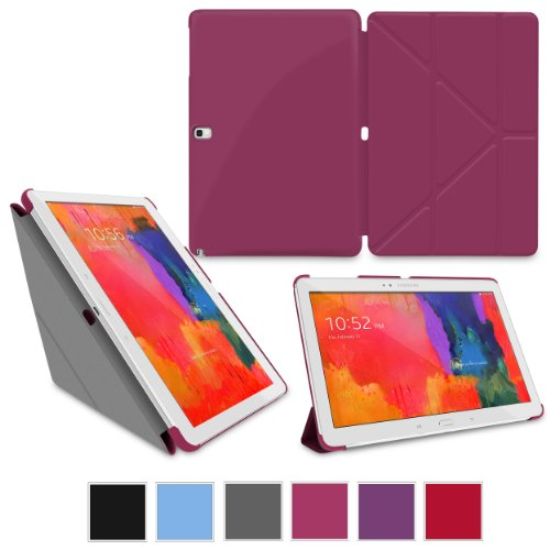 roocase-samsung-galaxy-note-101-2014-edition-origami-slimshell-case-cover-magenta