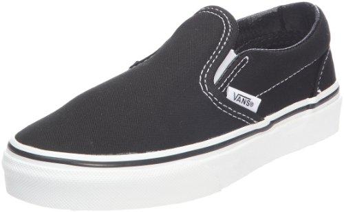 Vans Classic Slip On Jungen Sneaker Schwarz