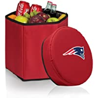 Picnic Time NFL New England Patriots Bongo Insulated Collapsible Cooler, Red