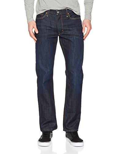Männer Levi ' Jeans S (Levi 's Herren 514gerade Passform Jeans Gr. 34 W/32 L, Blue (The Rich 0977))