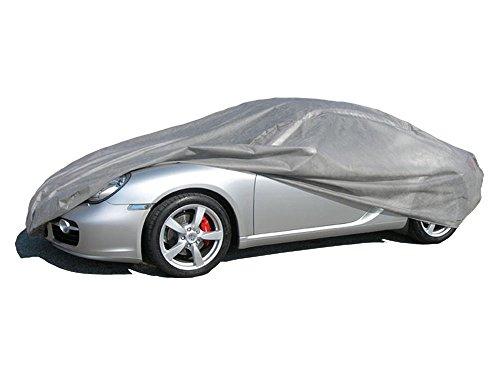 ballier Autoabdeckung Puff Indoor - Größe M 420x176x149 cm, Grau