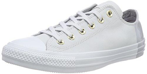 Converse Unisex-Erwachsene CTAS OX Fitnessschuhe, Silber (Pure Platinum/Pure Platinum 082), 39 EU (Damen Star Silber Converse All)