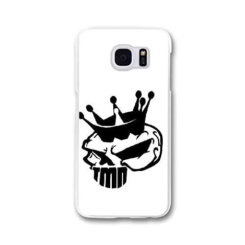 Custom personalized Case-Samsung Galaxy S7 Edge-Phone Case skull logo Design your own cell Phone Case skull