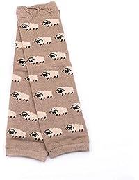 Malloom® 1 Paire De Chauffe Coton De Bande Dessinée De La Jambe Chaussettes Pour Genouillères Bébé De L'enfant