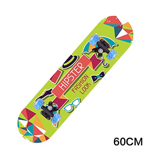 Skateboard-flanell (Huertuer Profis Skateboard Bettwäsche, Flanell gepolstertes vierteiliges Set, 5 Farben zur Auswahl)