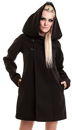 Poizen Industries -  Cappotto  - Donna nero Large