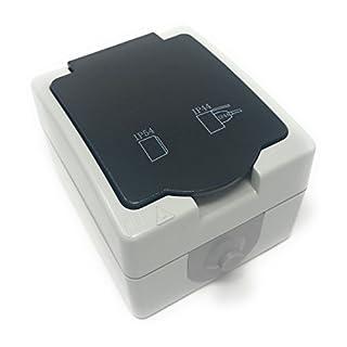 steckdosenverteiler 2 fach unterputz heimwerker. Black Bedroom Furniture Sets. Home Design Ideas