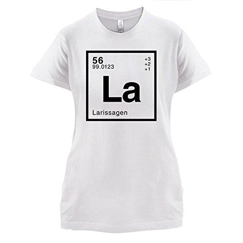 Larissa Periodensystem - Damen T-Shirt - 14 Farben Weiß