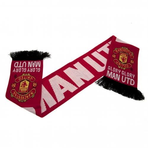 Manchester United Glory Scarf – Multi-Colour, One Size