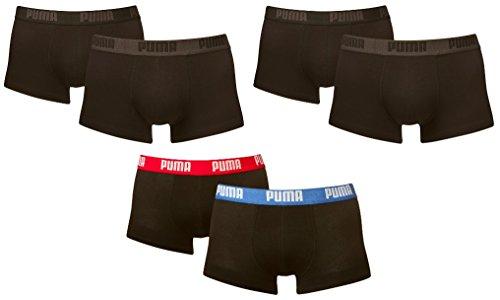 Puma Herren Basic Trunk Shortboxer im Farbmix. 6er Pack Farbmix 2