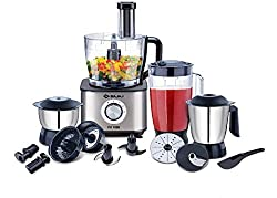 Bajaj FX1000 Fab 1000 W Food Processor, Black