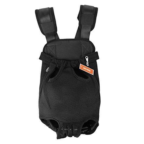 sac de transport pour chien ventral
