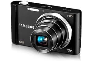 Samsung ST200F SMART Compact Digital Camera - Black (16.1MP, 10x Optical Zoom) 3.0 LCD