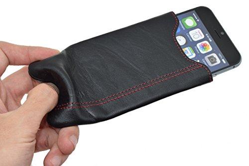 """Suncase original étui slim-étui pour iPhone 6/6s (4.7 """") noir/orange"""