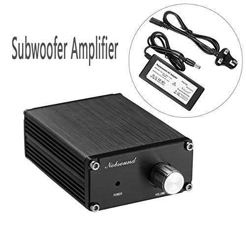41pps Zbd%2BL. SS500  - Nobsound 100W Subwoofer Digital Power Amplifier Audio Mini Amp with power supply (Black)