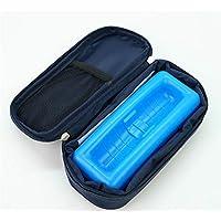 Alger Insulin-kühler Beutel-Diabetes-Manager-tragbarer medizinischer Reise-Kühlschrank mit blauem EIS-Schlitz preisvergleich bei billige-tabletten.eu