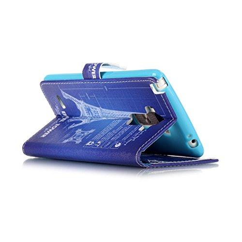Lederhülle Hülle Tasche Schutzhülle für Apple iPhone 5 5SE - Yihya PU Leder Bookstyle Flip Case Wallet Cover Handyhülle Etui mit Muster Design und Standfunktion + Stift - Stil 11 Stil 04