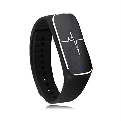 haehne-luxury-l18-bluetooth-40-waterproof-dustproof-bracelet-for-ios-android-smartphones-black