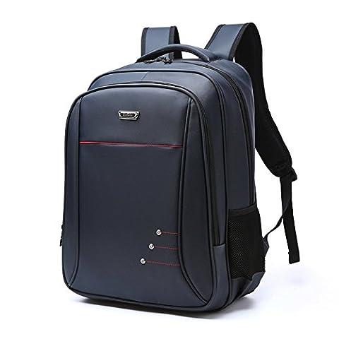 Laptop Backpack, GIM 15.6 Inch Slim Business Bag Waterproof College Back Pack Notebook Computer Backpack Shoulder Rucksack Fits Macbook Pro / Most 15.6 Inch Laptops for Men Women (Dark