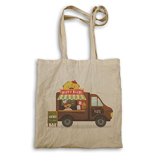 Heureux Tacos Food Truck Van Sac à main v557r