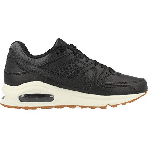 Nike Wmns Air Max Command Prm, Sneakers Basses Femme Noir (Black/black/sail/gum Med Brown)