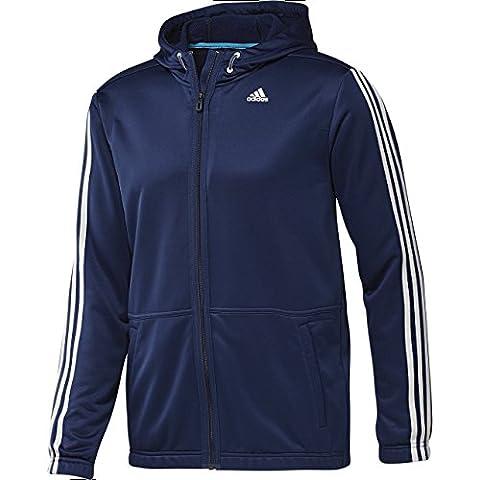 adidas Performance CL TR FZ LIGHT Chaqueta Sport Azul para Hombre Climalite