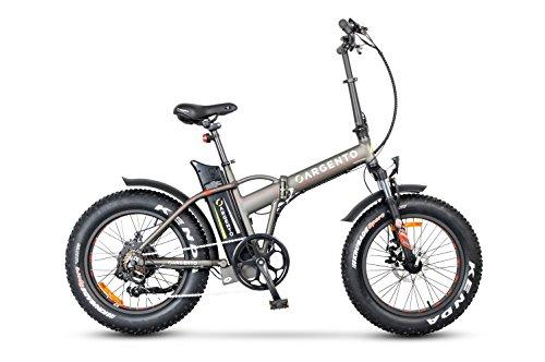 Argento Mini Max, Bicicletta Unisex - Adulto, Argento, Telaio 42 cm