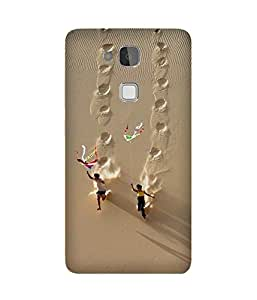 Kite Flying Huawei Ascend Mate 7 Case