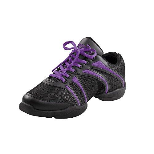 Capezio DS30 Bolt Split Sole Dance Sneaker Violett