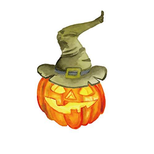 Vosarea Kürbis Aufkleber Halloween Wandaufkleber Halloween Herbst Kürbisse Party Deko (Halloween Für Deko-kürbisse)