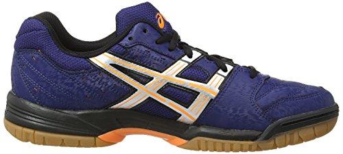 ASICS - Gel-Squad E330Y-5093 - Chaussures de Handball - Homme Bleu (Neon Green/White/Black 7001)