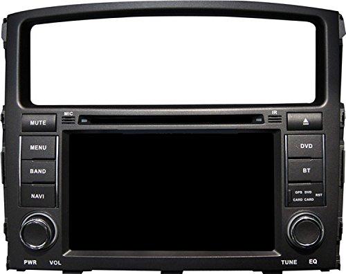 Gowe Android 17,8cm Auto-DVD-Player für MITSUBISHI PAJERO V93V97-/Montero 2006-2011mit GPS/SWC/WiFi/Radio/iPod/Canbus/Spiegel Link/OBD2 -