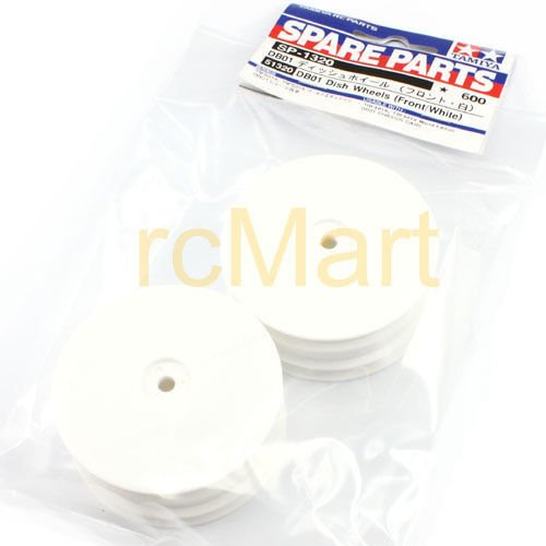 AST Works Tamiya DB01 Dish wheels Front/White TRF502X TRF511 EP 1:10 RC Cars Buggy #51320