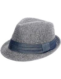 Alvaro castagnino Black Men Fedora Cap Hats