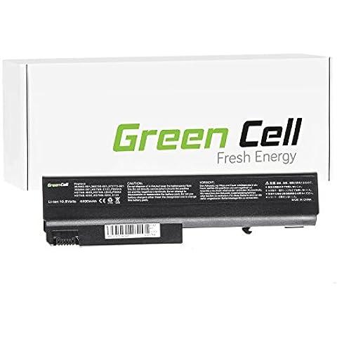 Green Cell® Portátil Batería para HP Compaq 6910p Ordenador (4400mAh)
