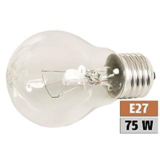 ETT Glühlampe E27, 230V, 75W, klar, stoßfest