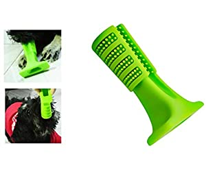 Qwhome Pet Dog Chewing Toy Brosse Bâton Dents Nettoyage Animaux Soins Oraux (Petits Chiens)