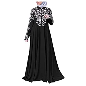 Bfmyxgs Islam Muslim Locker Damenkleidung Kurzmantel Langarm Frauen Nahen Osten Ethnische Kleid Muslimische Kleid Robe