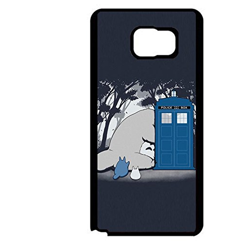 Cute Cartoon Doctor Who Phone Case Stylish Phone Cover for Coque Samsung Galaxy Note 5,Cas De Téléphone