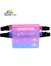 Pack Of 2 Waterproof Pouch Dry Bag With Waist/Shoulder Strap. Keep Phone