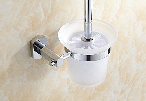 üm kleine Bürste voll Quartett Kupfer Base Hardware Badezimmer WC-Bürste WC-Schüssel ausgesetzt (E Schüssel Ein Kostüm)