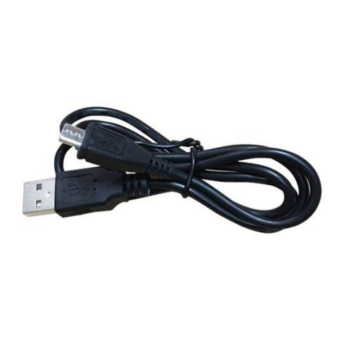 2Stück Android-Micro-USB-Ladekabel mit mit Kabel für Samsung Galaxy S6S7Edge, PS4, Blu, Moto, Nexus, LG, Smartphones und mehr, Schwarz (Motorola Bluetooth-camcorder)